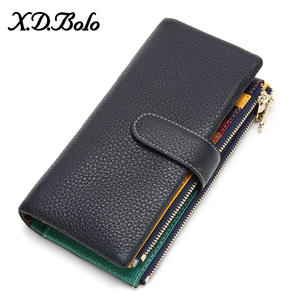 Clutch Wallet Phone-Pocket Women's Purses XDBOLO New-Design Card-Holder