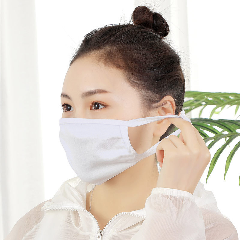 Free Shipping 20pcs/lot New Style Sublimation Blank Double Layer Face Mask(non-medical) Case For Sublimation INK Print DIY Gifts