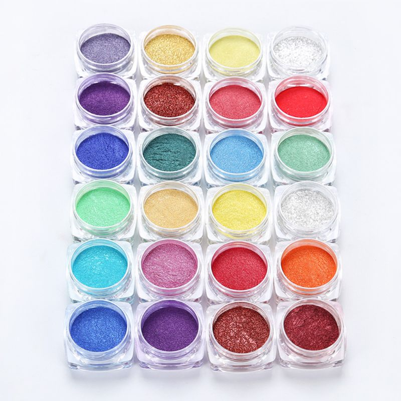 12 Colors Mica Powder Epoxy Resin Dye Pearl Pigment Natural Mica Mineral Powder Newest