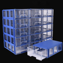 Thick Plastic Parts Cabinet Combined Drawer Component Boxes Building Block Material Box Home Storage Boxes Supplies Toolbox