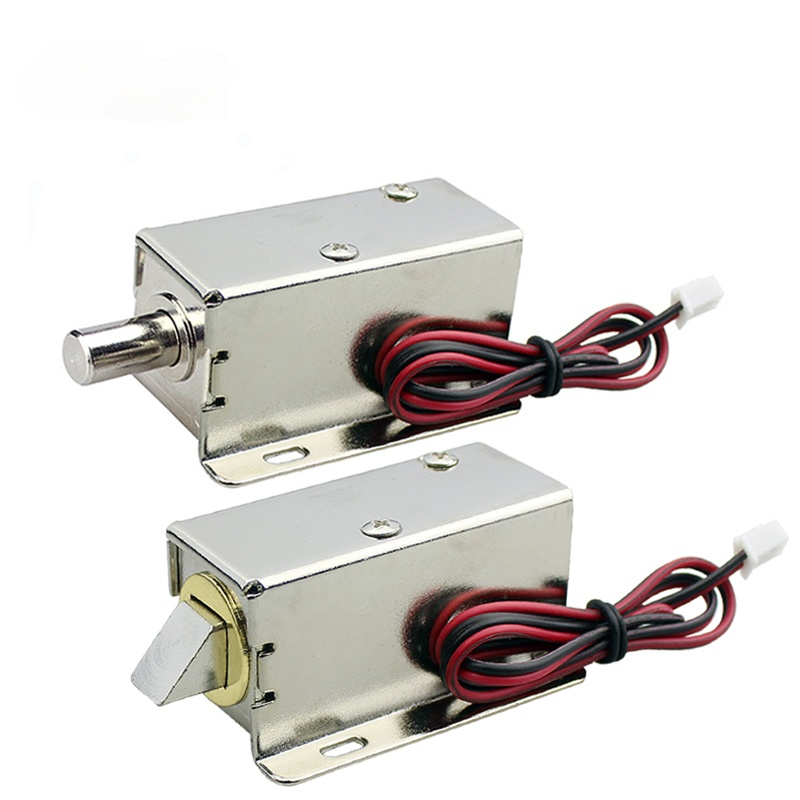 Mini waterproof electromagnetic lock DC 12V electric bolt lock small electric control cabinet door lock
