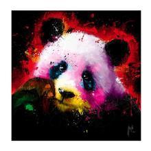 цена на 5d Diy Diamond Mosaic Animal Diamond Embroidery Christmas 3D Diamond Painting Colorful Panda Pictures Home Decor