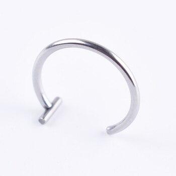 Women lips Rings Medical Titanium steel Nose Ring Fake Nose Ring Septum Piercing Clip On mouth Ring Fake Piercing Body Clip Hoop