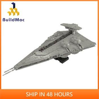 Moc Constrictor II Spielbar Interdictor Cruisers Flugzeug Star SeriesTechnicle Schlacht Boot Bausteine Kind Spielzeug Geburtstag