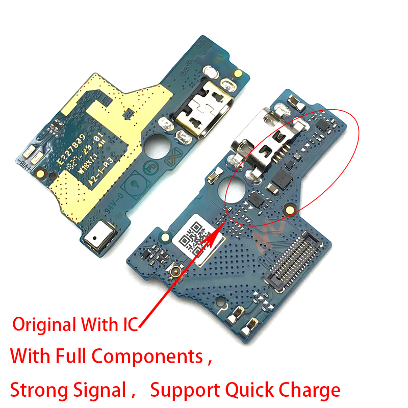 1Pcs USB Charging Charger Port Board For ASUS Zenfone Live L1 ZA550KL X00RD Micro Dock Charge Connector Flex Cable Replacement