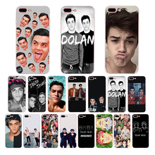 HOUSTMUST Soft Silicone Phone Case Dolan Twins Back Cover for iphone 5s 7 8 6s 6 plus xs max x xr phone case 5 10 se cover shell
