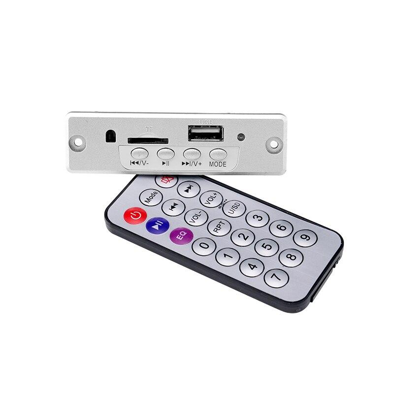 5 в MP3 плеер декодер не допускающий потерь плата 3 Вт усилитель стерео USB MP3 WAV декодирование TF FM радио модуль с пультом дистанционного управления для динамика MP3-плееры      АлиЭкспресс