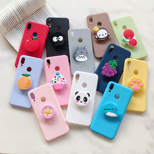 Cartoon Bear Stand Case for Motorola Moto G8 Power G7 Plus G6 Play G5S E6 E5 E4 G Fast Pro Style Star Holder Soft Cover