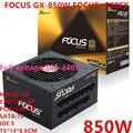 Новый блок питания для sesonic ATX 80plus Gold полный модуль RTX2080TI VEGA64 850 Вт блок питания фокус GX-850W фокус + 850FX