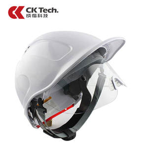 Goggles Glasses Protective-Cap Construction-Site Safety-Crash-Helmet Tech. Abs-Work CK