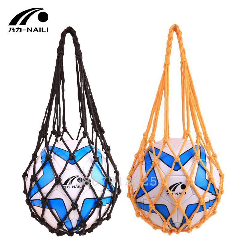 Football Small String Bag Ball Football Ball String Bag Can Be Installed 1 Balls Football String Bag Basketball Net Pocket Singl