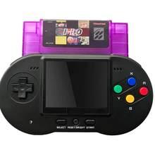 Console de jeu portable rétro rétro 110-en-1, Mini cartouche 46 broches 16 bits, prise en charge de la sortie TV Standard, Version USA PAL JAP