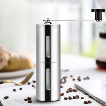 Colorful  New hand-cranked coffee machine coffee bean grinder  Portable coffee grinder  core ceramic grinding wholesale washable 3