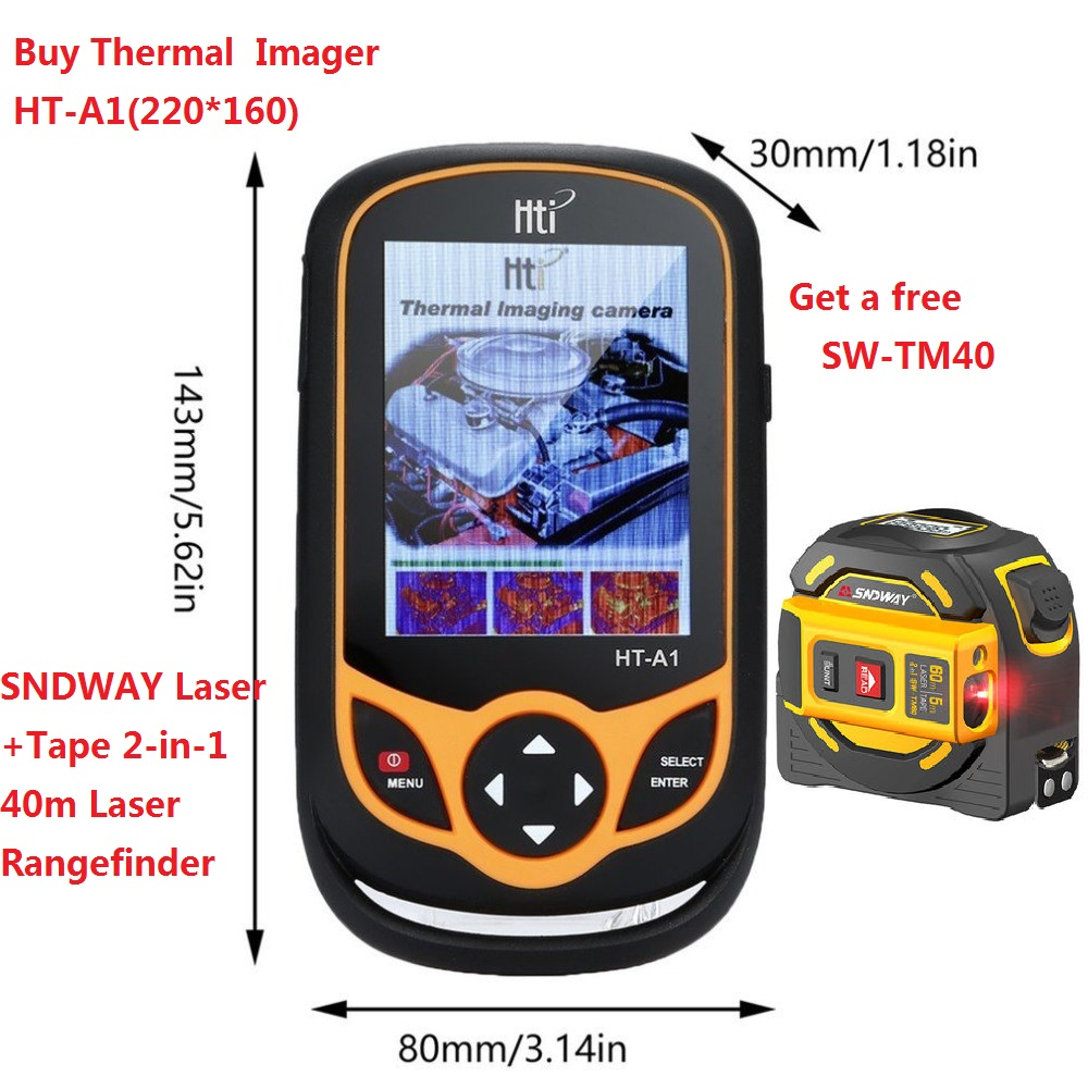HT-A2 TFT Thermal Camera With Display Screen For Temperature  Measuring Tools 2