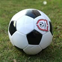 2021 mais novo jogo bola de futebol macio couro do plutônio preto branco tamanho padrão bola futebol treinamento esporte acessórios