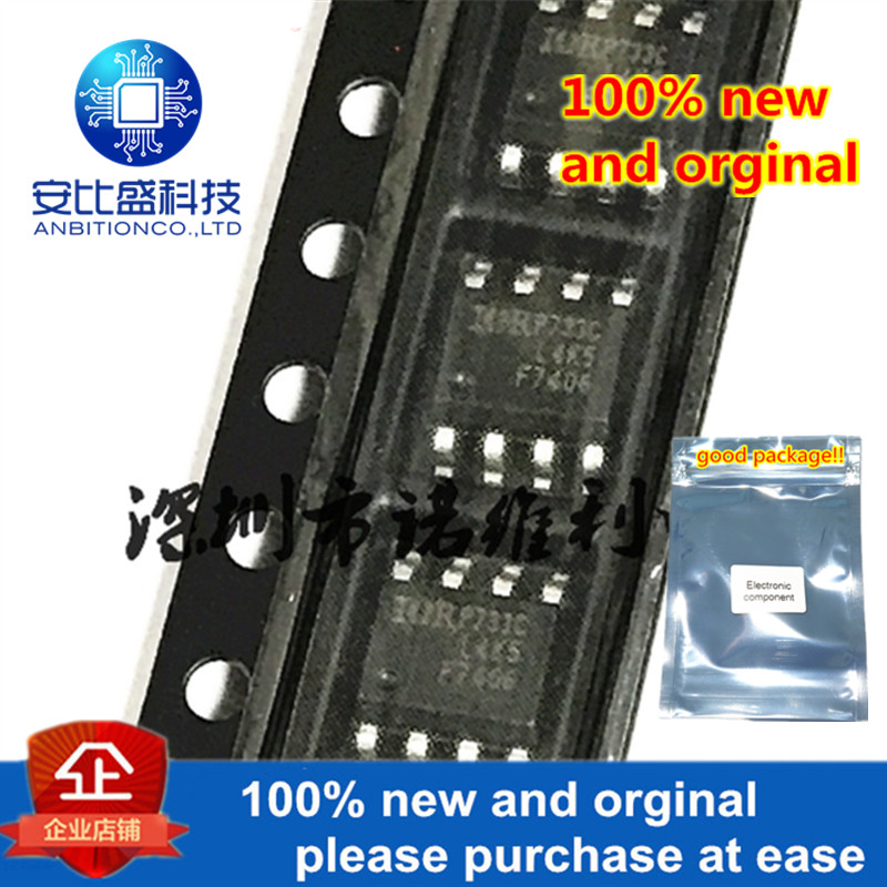 10pcs 100% New And Orginal IRF7406TRPBF F7406 SOP-8 Generation V Technology In Stock