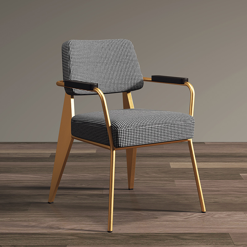 Nordic Light Luxury Dining Chairs Post-modern Minimalist Dining Chair American Loft Office Chair Backrest Stools Furniture