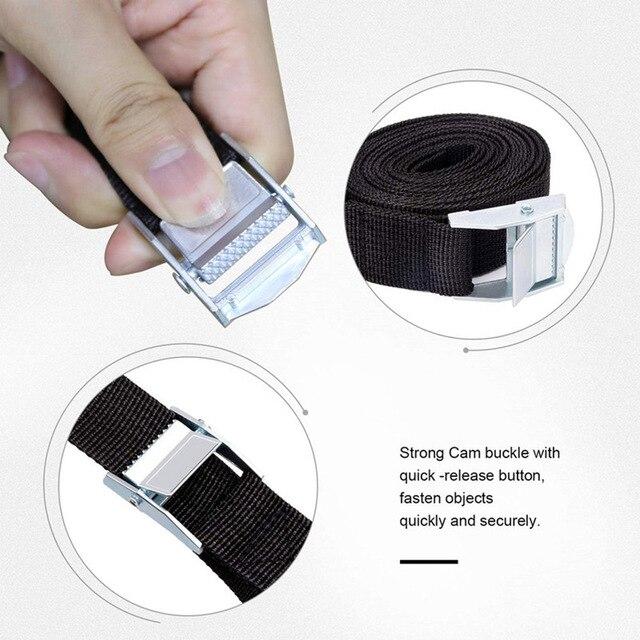 Фото 6pcs tie down straps fastening strap heavy duty nylon lashing