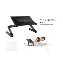 Table-Bed Desk Computer Laptop Cooling Folding Lazy Aluminum-Alloy iPad Drop-Ship
