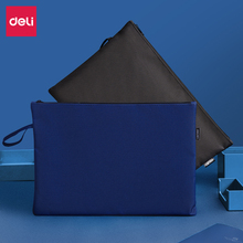 Briefcase File-Bag Zipper Computer-Storage-Bag Office-Supplies Polyester Portable Deli