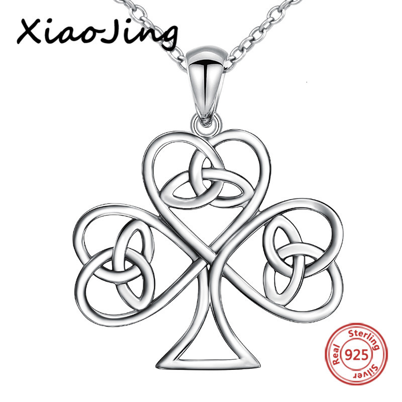 XiaoJing New arrival 925 sterling silver oxidation famale pendant chain necklace diy fashion jewelry making for women gifts in Chain Necklaces from Jewelry Accessories