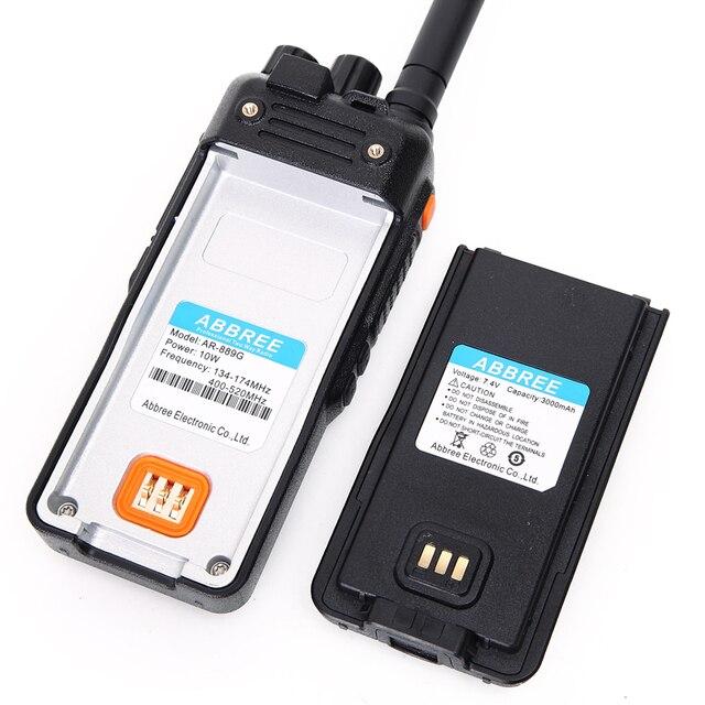Abbree ar-889g gps sos walkie talk