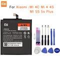 Аккумулятор для телефона Xiaomi  оригинальный для Xiaomi MI/4C/Mi 4/4S/MI 5S/5s Plus
