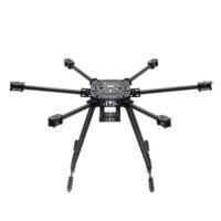ZD850 Full Carbon Fiber ZD 850 Hexa Rotor Frame Foldable Arm Hexacopter Frame Kit with Unflodable Landing Gear for FPV