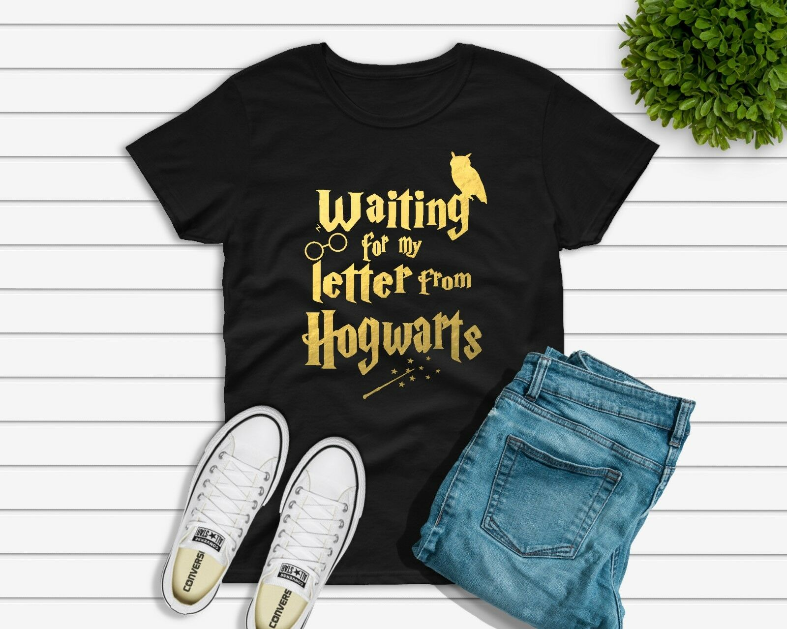 Waiting For My Letter From Hogwarts Tshirts Unisex Womens Childrens HARRY Men Women Unisex Fashion Tshirt Free Shipping