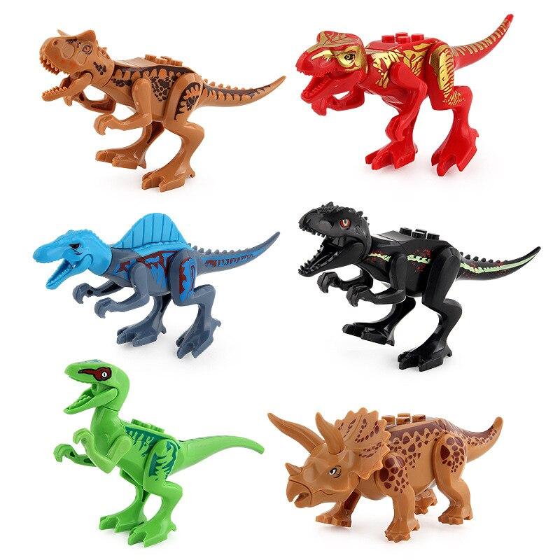 Jurassic dinosaur assembly blocks 12 models of DIY Tyrannosaurus Rex
