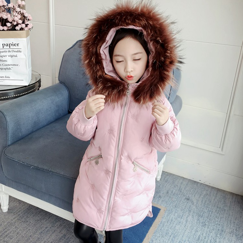 CROAL CHERIE Real Fur Outerwear & Coats Winter Jacket For Girls Children Winter Clothing Outerwear Coat Toddler Clothes (5)