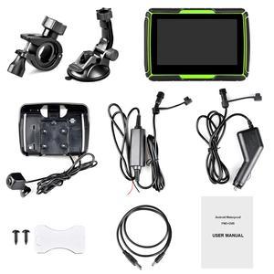 Image 5 - Fodsportsรถจักรยานยนต์GPSนำทางHD DVRระบบAndroid WIFIบลูทูธ 4.3 นิ้วTFT Touch Screen IPX7 กันน้ำ