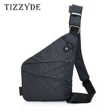 Marca masculina viagem negócios fino saco de ombro à prova de burglarproof coldre anti roubo segurança cinta armazenamento digital sacos peito pct278