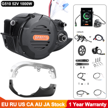 Bafang Electric Bike Conversion Kit G510 52V 48V 1000W Mid Drive Motor eBike Ultra M620 für Fracht berg Fahrrad DPC18 Display