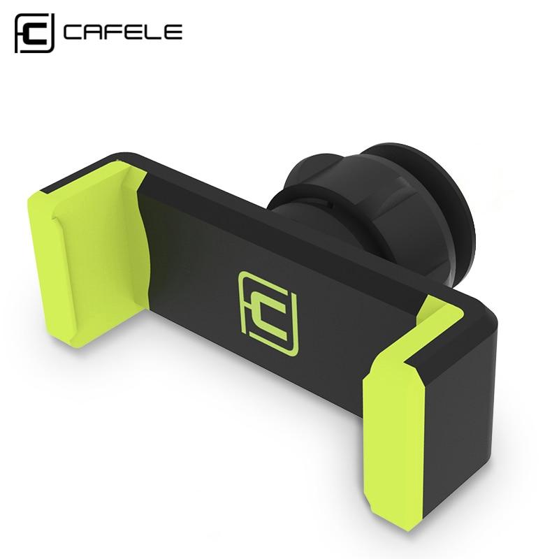 CAFELE ունիվերսալ հեռախոսի սեփականատիրոջ կանգառը 360 կարգավորելի օդափոխիչով մոնտաժ GPS մեքենայի բջջային հեռախոսի սեփականատեր iPhone X 8 7 6 Plus Samsung S9- ի համար