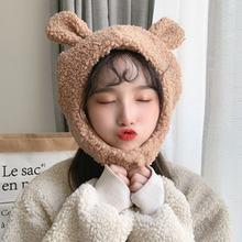 НОВАЯ шапка для женщин на осень и зиму с мультяшным утолщением