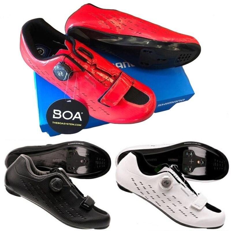 2019 Shimano SH RP501 Road Shoes Vent Carbon Road Shoes SH RP501 Road Lock shoes RP5