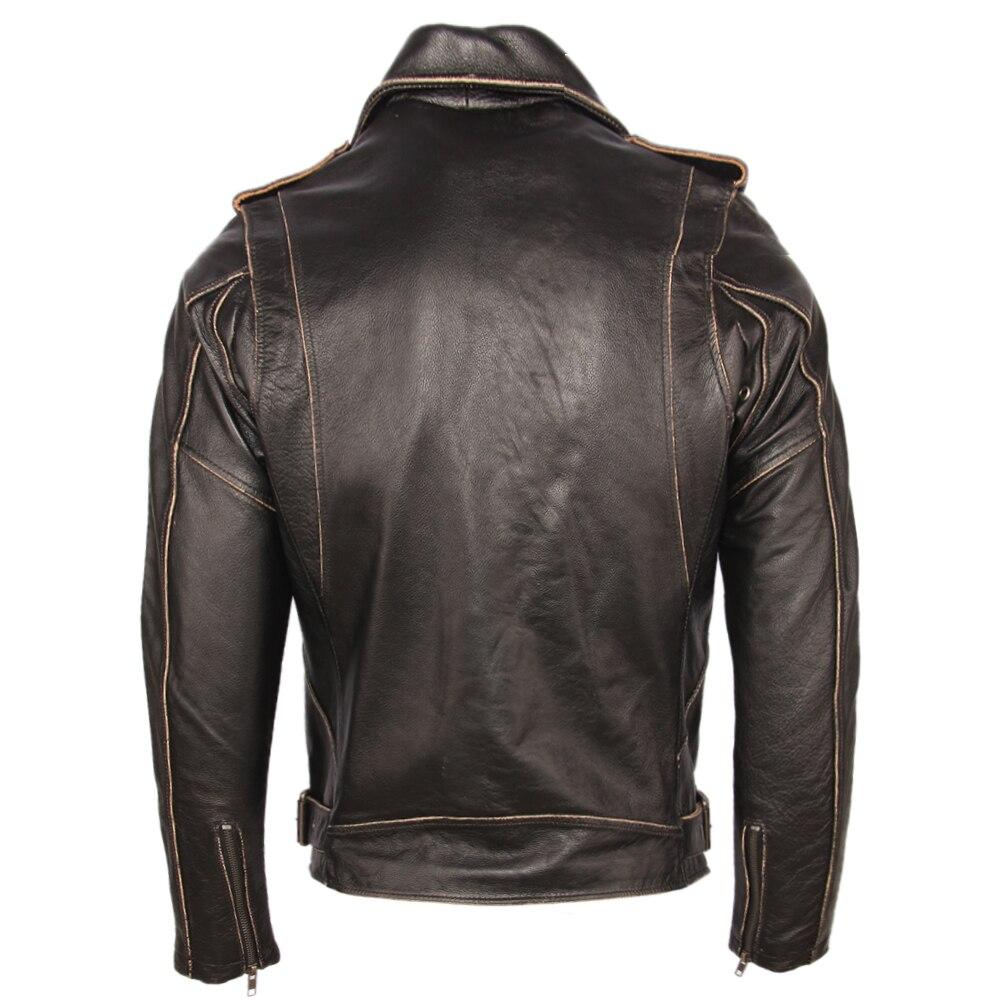 H14e18aab43ba4313865649abdfcf1b777 Vintage Motorcycle Jacket Men Leather Jackets Thick 100% Cowhide Genuine Leather Coat Winter Biker Jacket Moto Clothing M456