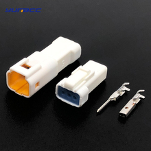 2 sets JST 3 Pin/way automotive male female waterproof wire connector Plug 03T-JWPF-VSLE-S 03R-JWPF-VSLE-S for Benz BMW стоимость