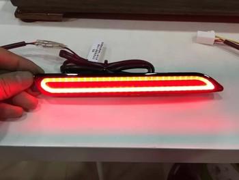 Reflector, LED Rear Bumper Light, rear fog lamp, Brake Light For toyota series with 3 or 2 functions guiding light