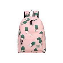 цены Teenagers Girls Cute Cactus School Bags Women Backpack Bookbag Laptop Backpack Travel