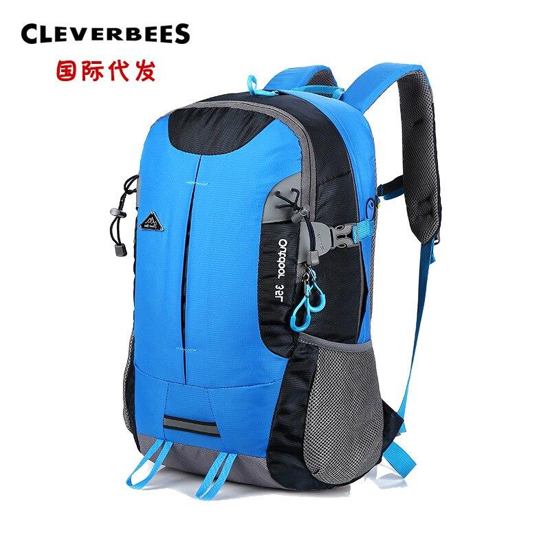 Outdoor Sports Backpack Large Capacity Travel Mountaineering Bag Casual Travel Backpack Waterproof Multi-functional Hiking Backp