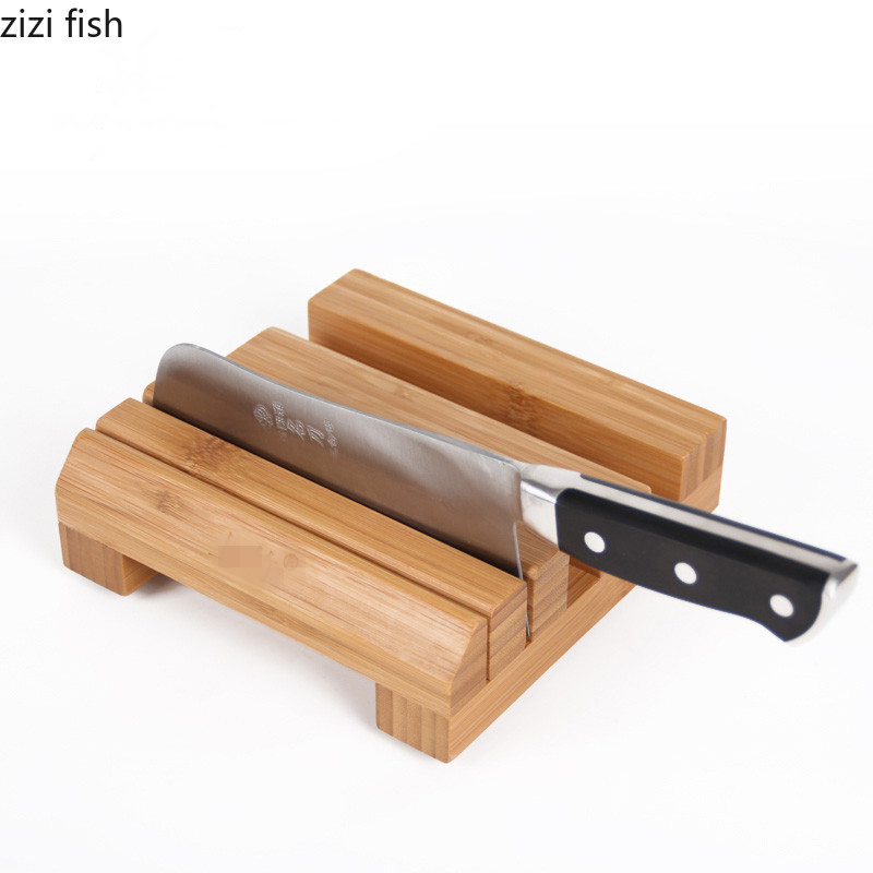Chopping Board, Kitchen, Bowl, Saucer, Shelf, Bamboo And Wood Products, Original Knife Holder, Knife Pocket Holder