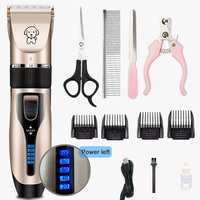 Power-B-Pet Clipper Dog Grooming haircut Trimmer Shaver Set