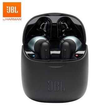JBL TUNE 220 TWS True Wireless Bluetooth Earphones T220TWS Stereo Earbuds Bass Sound Headphones Headset with Mic Charging Case Electronics Wireless Earphones