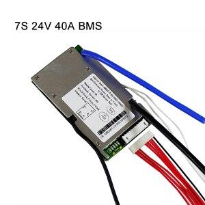 Image 5 - ליתיום BMS 7S 24V 15A, 20A ו 30A BMS עבור 24V ליתיום יון סוללה עם פונקצית איזון