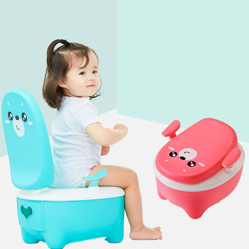 Classical Plastic Baby Potty Baby Using Potty Training Toilet Chair For Free Potty Brush