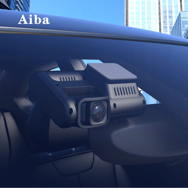 Aiba J07 WIFI Dual Lens Sony IMX323 Dash Cam Novatek 96663 Chip Sensor Night Vision Dual Camera Dash Cam 24H Parking 4k 2160p 4