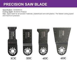 Image 4 - NEWONE многоосциллирующие лезвия пилы Combo HCS/Япония зуб/биметаллический Электрический Реноватор лезвия пилы аксессуары для деревообработки