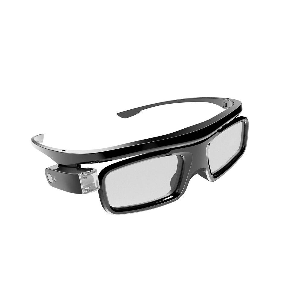 lowest price BYINTEK GL1800 3D Glass for DLP 3D Projector UFO U50 U30 P12 R19 R15 DLP-Link Active Shutter Real 3D Shocking